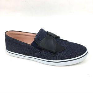 Kate Spade Indigo Denim DELISE TOO 7.5 flat shoes